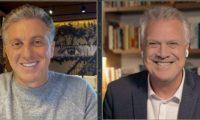 Luciano Huck vai substituir Faustão aos domingos, diz apresentador no 'Conversa com Bial'.
